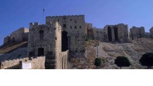 Aleppo's citadel (photo: Claudia Mende)