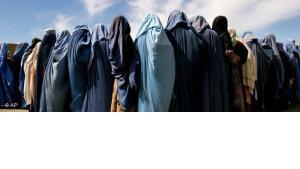 Women wearing burqas, Afghanistan (photo: AP)