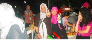 Women on the bazaar of Tripoli (photo: DW)