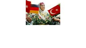 Turks make up the largest group of foreigners living in Germany