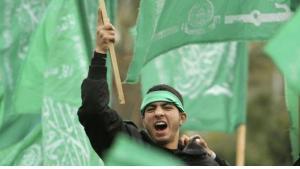 Hamas activist in Gaza City (photo: Reuters)