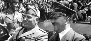 Hitler and Mussolini June 1940 (source: Wikipedia)