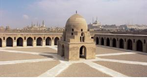 The Ibn Tulun Mosque in Cairo (photo: picture-alliance/Ellen Rooney/Robert Harding)