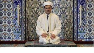 An imam in a mosque in Baden-Baden, Germany (photo: AP)
