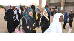 Young women at the University of Benghazi, Libya (photo: DW)