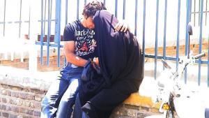 A young couple in Teheran (photo: Hartmut Niemann)