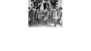 Using Islam to attain war-time political ends: Kaiser Wilhelm II. on a state visit to Constantinople (photo: German Historical Museum)