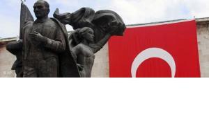 Statue of Mustafa Kemal Ataturk in Ankara (photo: AP)