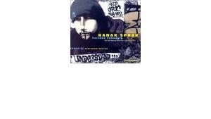 """Cover of """"Kanak Sprak"""" by Feridun Zaimoglu, &copy Audio-Verlag"""