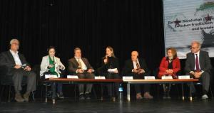 Panel discussion on the situation in Syria, Berlin, 23 March 2012 (photo: Bettina Marx/DW)