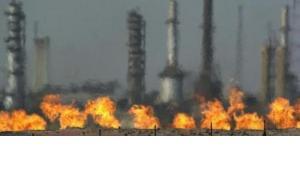 Oil refinery in Kirkuk (photo: AP)