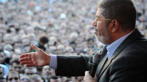 Egypt's president Mohamed Mursi, 23 November 2012 (photo: EPA/Egyptian Presidency)