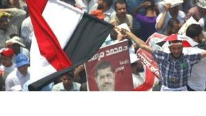 Supporters of Mohamed Morsi in Cairo (photo: Reuters)