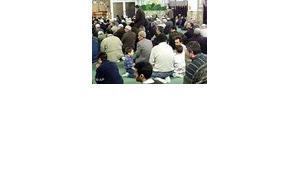 German Moslems during prayer (photo: AP)