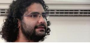 The imprisoned blogger Alaa Abdel Fattah (photo: Wikipedia)
