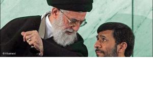 Ayatollah Ali Khamenei and Mahmoud Ahmadinejad (photo: www.Khameni.ir)