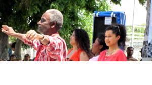 Afro-Turks during the Sixth Festival of the Calf (photo: Ekrem Güzeldere)