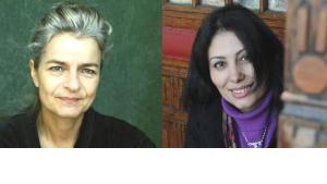 Charlotte Wiedemann (left) and Mansoura Ez-Eldin (photo: private copyright / Isolde Ohlbaum)