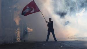 Protests against the Erdogan and the AKP goverment in Istanbul (photo: AFP/Getty Images)