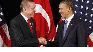 Turkey's Prime Minister Erdogan and US President Obama at the Nuclear Security Summit in Seoul on 25 March 2012 (photo: Reuters)