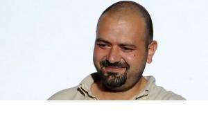 The Syrian film-maker and activist Orwa Nyrabia (photo: Elvis Barukcic/AFP/Getty Images)