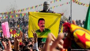 Supporters of PKK leader Öcalan near Diyabakir (photo: Stringer/AFP/Getty Images)