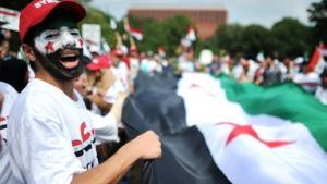 Protest against the Assad regime (photo: AFP/Getty Images)