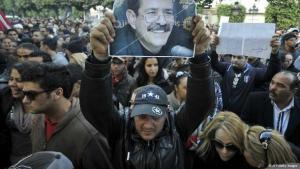 Protests in Tunisia after Belaid's Killing (photo: AFP/Getty Images)