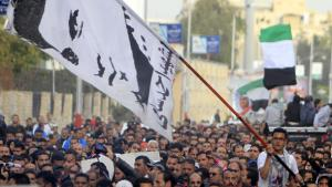 Protests against court decisions in Port Said (photo: Reuters)