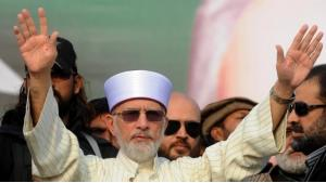 Tahir ul-Qadri (photo: AFP)