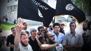 Salafists protesting in Tunis (photo: dpa/picture-alliance)