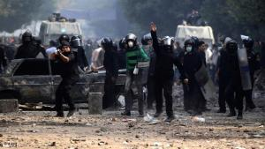 Riots on Tahrir Square, Egypt (photo: dapd)