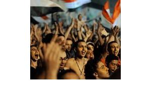 Demonstration on Tahrir-Square, Cairo (photo: Amr Nabil/AP/dapd)