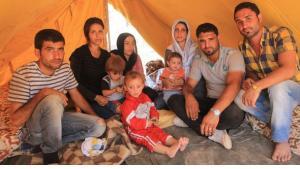 Syrian refugees at the Domiz refugee camp (photo: Jan Kuhlmann)