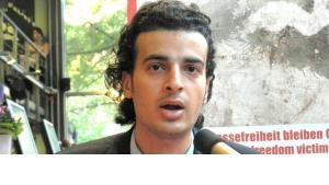 Egyptian blogger Maikel Nabil Sanad (photo: Bettina Marx/DW)