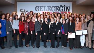 Turkish women entrepreneurs during a training seminar by Women Entrepreneurs Association of Turkey, KAGİDER (photo: KAGIDER)