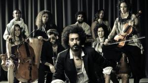 Ravid Kahalani and his band Yemen Blues (photo: © Zohar Ron/Yemen Blues)