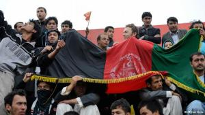 For the first time ever, soccer fans had the opportunity to watch a final match of the Afghan Premier League (APL). Two teams from different regions of the country met at Kabul's Ghazi Stadium on Friday, October 19, to have it out on the pitch.