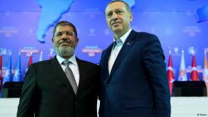 Turkish Prime Minister Recep Tayyip Erdogan and the former Egyptian President Mohammed Morsi (photo: Reuters)