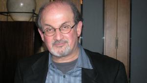 Salman Rushdie (photo: Lewis Gropp)
