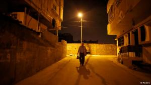 Day begins before dawn: Taysir Abu Sharif Hader is one of 47,000 Palestinians with an official work permit who cross the border from the West Bank every day. Every morning before sunrise, he makes his way to the Qalqilya checkpoint to get to his job in Israel.