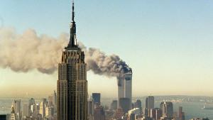 New York and the Twin Towers under attack on 9/11 (photo: AP)