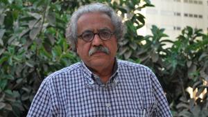 Hani Shukrallah (photo: Andrea Backhaus)
