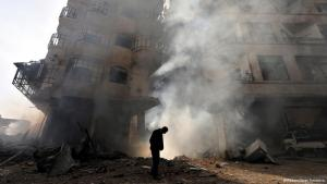 Ravaged by war: The Northern Syrian city of Homs (photo: Reuters)