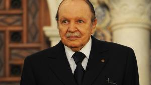 Algerian President Abdelaziz Bouteflika at the People's Palace in the capital Algiers on April 15, 2013 (photo: Farouk Batiche/AFP/Getty Images)