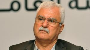 President of the Syrian National Council (SNC) George Sabra speaks during the news conference in Istanbul, Turkey, Aug. 21, 2013 (photo: AFP/Getty Images)