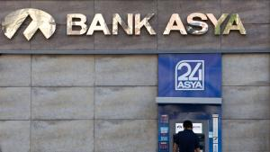 A branch of the Bank Asya in Istanbul (photo: picture alliance/Tone Koene)