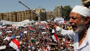 Mass demonstration on Tahrir Square (photo: Reuters)