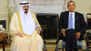 US-President Barack Obama meets Saudi King Abdullah in Washington DC (photo: Roger L. Wollenberg/EPA)