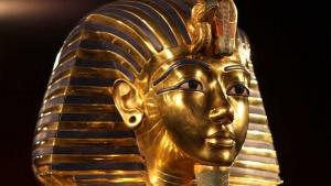 The burial mask of Tutankhamun (photo: picture-alliance/dpa)